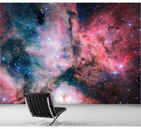 bathroom universe - D Stereo Custom Space Stars Universe Nebula Living Room Bedroom Bathroom Sofa TV Wall Mural Wallpaper Background Wallpaper