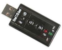 Wholesale USB Audio USB Sound Card Adapter D usb External Sound card