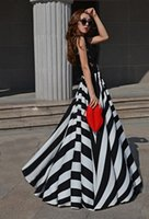 flowing prom gowns - 2015 Noble Black lace A line girls Casual dreses Fashion Street Style empire waist floor length flow cheap evening prom gowns party dresses