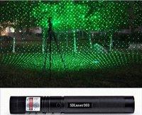 Wholesale Laser Pointers SD Laser Green Laser pen High power star Lazer burning Laser Pointer Safe Key for office travel tool gift drop shipping