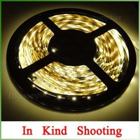 Wholesale Wholesales X M m LED Strip Christmas Party Lights Nonwaterproof Warm White leds leds meter Hot Offer