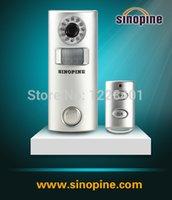 Wholesale Alarm Wireless Solar automatic photographic alarm SP63C DIY Low power consumption Automatic alarm Security