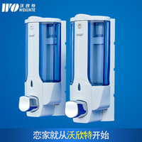 Wholesale Hand sanitizer hand soap dispenser wall mounted machine manually lockable bathroom soap dispenser soap stud single head machine