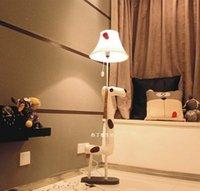 Wholesale Dot dog floor lamp Children reading room floor lamp Kids play room floor lamp