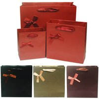 Cheap Formal Wedding Favor Holders For Business Gift Paper Boxes Gift Paper Bags 4Colors Wedding Boxes For Candies Party Favor Bags Factory Sell