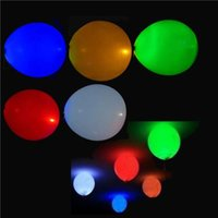 led balloons - 20 LED Hellium Air Mixed Colors Balloons Wedding Decoration Party Light Up