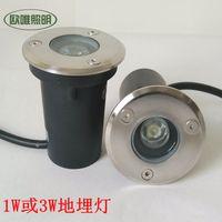 Wholesale 60pcs W Underground led light decklight and of v to v W transformator DHL free