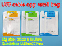 Wholesale Zipper Packaging Bag Clear Alum Plastic Package Pouch For Micro USB cable For iphone iphone plus cable DHL Free