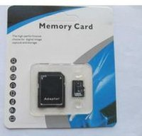 Wholesale 64GB SDHC Class No Name Brand TF Memory Card C10 SD Card With SD Adapter Blister Retail Package