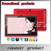 cheap tablet - US Stock Tablet PC inch Allwinner A23 Dual core WIFI OTG External G MB Cheap Android Q88