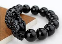Cheap 2015 Fashion Natural Ebony Black Wood Beads 108 Buddha Bracelets Men   Women Long Bangle Religion Gift Wholesale Tibet Jewelery