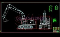 Wholesale WY22 crawler excavator drawings Full Machining drawings ATUO CAD