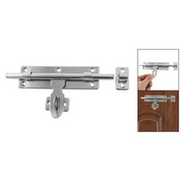 barrel bolt lock - IMC Home Door Safety Polished Barrel Bolt Latch Hasp Staple Lock Set order lt no track