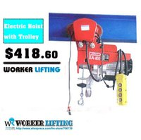 Wholesale V HZ kg x m complete unit type Electric Wire Hoist with trolley