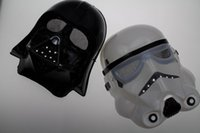 Wholesale 200pcs New Halloween Festival horror mask Star Wars the Darth vader mask color