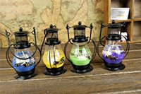 religious candles - R H Portable Aladdin Magic Lamp Lantern Ancient Candles Light Handcraft Candle Holder Candle Favors drop shipping