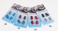 Wholesale Universal Auto Durable Aluminum alloy valve cap Prevent gas leakage Car Tire cap set