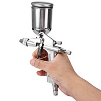 Wholesale On Sale High Quality Aluminum Alloy Magic Mini Spray Gun Sprayer Air Brush Painting Paint Tool Professional Pistola De Pintura