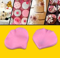 fondant roses - soap mold DIY silicone D rose petals fondant mold cake decorating molds silicone conjoined two sided mould