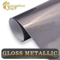 aluminum roofing products - New Hot Products Gray Glossy Metallic Chrome Car Vinyl Wrap Glossy Chrome Vinyl Film