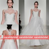 beach wear shop - Shop Fashion Runway Ball Gown Wedding Dresses Online For Princess Bride Bridal Wear Sheer Lace Appliques Beaded Custom Made Vestidos