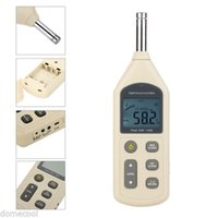 Wholesale New GM1356 LCD Digital Sound Level Meter dB USB Decibel Noise Measurement