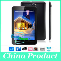 Wholesale 7inch Freelander PD10 GS MTK8312 Dual Core Android RAM512M ROM GB G GPS Bluetooth Dual Camera Tablet Tablets PC