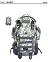 Wholesale adventure time backpack military bionic camouflage cotton rucksack large capacity versatile molle acu style outdoor sport backpack