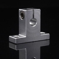 Wholesale 2pcs SK8 mm Linear Rail Shaft Guide Support mm Linear Rail Shaft Support XYZ Table CNC Parts