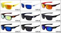 black sunglasses - Brand summer men Bicycle Glass color film sunglasses cycling glasses women and man square glasses goggles colors