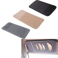 Wholesale 12pcs Disks Car CD Holder Auto Visor DVD Disk Card Case Clipper Bag Car Styling Interior Organizer Cover stowing tidying order lt no track