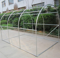 Wholesale L3 W2 H2m greenhouse with metal structure and PVC film