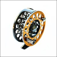 aluminium fly reels - Aluminium LG85 CNC fly fishing reel all metal mm g Right Left inter changeable fly fishing reel