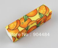 art wholsale - New Style Colour Standing Buffer Block File Ways Fruit DesginHigh Quality Nail Art Care Tool Product Wholsale