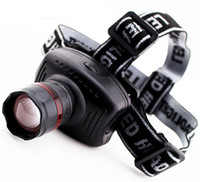 led fishing light - New Strong Light LED Zoom Mode Waterproof Headlamp Fishing Riding Headlight Flashlight Head Lamp