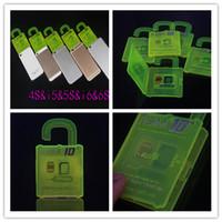 Wholesale R SIM Unlock iphone S CDMA SRPINT AU SB ios9 ios9 G G direct use NO Rpatch NO RSIM R SIM r sim IOS7 X X R SIM DHL