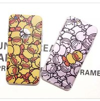 animal skin for sale - 2015 South Korea Hot Sale Yellow Duck Animal Protective Case Cover Skin For iPhone s Plus Cell Phone Back Case