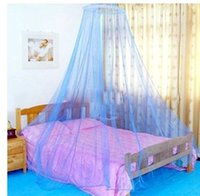 Wholesale High quality encryption dome mosquito net princess yarn student mosquito meters bed