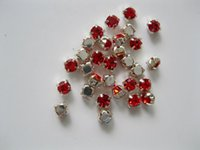 Wholesale Mix DIY garment accessories China MM claw red clear White diy rhinestone garment accessory