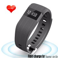 apple style monitor - New Heart Rate Monitor Bracelet Similar Smart Wristband As Fitbit Charge HR Style For Apple Sony Xiaomi mi Band Health Fitness