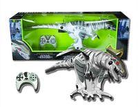 animal senses - EMS Jurassic world sensing intelligent infrared remote control RC robot mechanical dinosaur robosaur toy Action Figures model kids gift