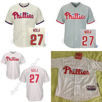 aaron boy - Cheap Authentic Youth Philadelphia Phillies Jersey boys Aaron Nola Kids Baseball Jerseys Kids Children all stitched size S XL