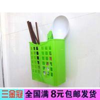 Wholesale Cutlery storage box chopsticks cage stainless steel chopsticks chopstick holder box creative Drain