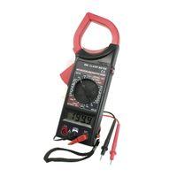 Wholesale Volt Amp Ohm Meter Multimeter Digital Clamp Meter w Test Probe Leads Red Black Discount