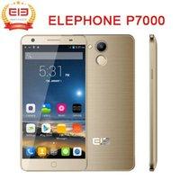 Pre venta 5.5《》 pulgadas FHD P7000 de teléfono 4 G LTE Smart teléfono móvil Android 5.0 MTK6752 Octa Core 3 GB/16 GB Multi idioma 13MP libre shipiing de 64 bits