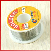Wholesale tin lead Rosin Core Solder Soldering Wire Reel1mm OZ Spool Flux