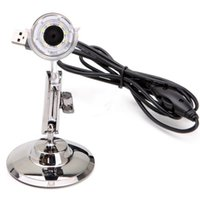 Wholesale 50x X MP LED Light Endoscope Video Camera Digital USB Microscope Magnifier Black NEW Hottest
