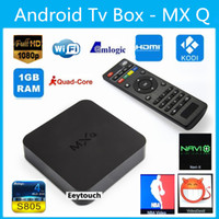 android tv - Original Online Update MXQ TV BOX Amlogic S805 Quad Core Android Airplay TV Channels Programs Media Player KODI14 Rooted