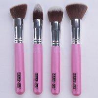 best kabuki brush - Best Quality new Premium Synthetic Kabuki Makeup Brush Set Professional Cosmetics Foundation blending brushes