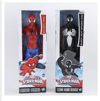 Wholesale Newest Spiderman D Doll Model superhero figures Large Marvel Action Figure Boys cm The Averages Kids Child Toys High quality A0384